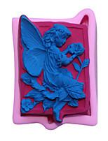 Bakeware Silicone Fairy Fondant Mold Cake Decoration Mold
