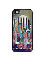 Personalized Gift Thug Life Design Aluminum Hard Case for iPhone 5/5S