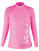 Winmax® UV50+ Protection Long Sleeves Diving Suit Shirt/ Lycra Rash Guard/ Surf Shirt for Woman