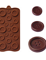 Buttons Shaped Baking Molds Ice/ Chocolate / Cake Mold