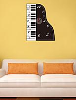 DIY Creative Piano Wall Clock