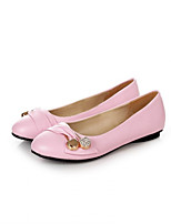 Girls' Shoes Casual Pointed Toe Flats Black/Green/Pink/Red/White