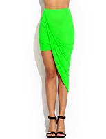 Women's Sexy Fashion Bodycon Above-Knee Cotton Skirts