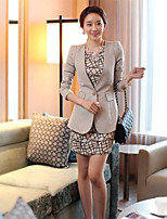 Women's Long Thin Suit Coat Of Cultivate One's Morality