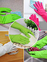 Rubber Gloves Latex Kitchen Long Dish Washing Cleaning Protect Hand