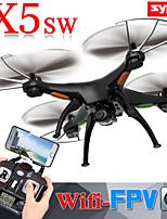 Syma x5sw rc Quadcopter construir en cámara hd con FPV wifi transmisión en tiempo real de vídeo y foto, 4 canales helicóptero 6axis