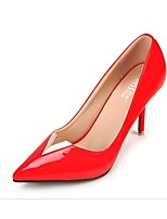 Women's Shoes Velvet Stiletto Heel Heels Pumps/Heels Casual Black/Red/Gray