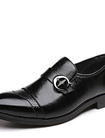 Men's Shoes Office & Career Leather Oxfords Black