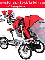 todo el conjunto de paseo-bicicletas para los gemelos + 2mosquite ruituo neta ™ cochecito convertible 3 en 1 madre&bebé 3 llantas de