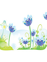 Wall Stickers Wall Decals Style Flowers & Plants PVC Wall Stickers