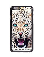 Personalized Gift The Leopard Design Aluminum Hard Case for iPhone 6