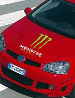 monsterenergy formato autoadesivo dell'automobile della decorazione del corpo di automobile sticker: 55cm