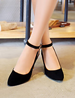 Women's Shoes  Stiletto Heel Heels Pumps/Heels Office & Career/Dress Black/Pink
