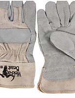 guantes de soldadura de cuero Hanshou 26cm