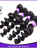 7A brazilian virgin hair loose wave 4pcs brazilian loose wave hair weave virgin brazilian human hair