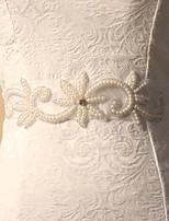 Faixa Cetim/Tule Faixas para Mulheres Casamento/Festa/Noite Florais/Pedraria