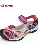 clorts 2015 PU sandales de femmes des chaussures plates chaussures plate-forme extérieure velcro femmes chaussures plateforme de plage