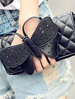 WEST BIKING® 2015 Latest Fashion Lady Butterfly Messenger Satchel Black Crossbody Classical Brand Women Clutch Bag