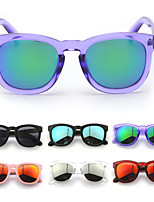Women 's Mirrored Wayfarer Sunglasses