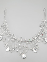 Women's Crystal/Alloy Headpiece - Wedding/Special Occasion Flowers/Head Chain 1 Piece
