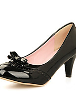 Women's Shoes Faux Leather Chunky Heel Basic Pump Sandals/Pumps/Heels Office & Career/Dress/Casual