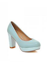 Women's Shoes Synthetic Stiletto Heel Heels/Basic Pump Pumps/Heels Office & Career/Dress/Casual Blue/Pink/White/Orange