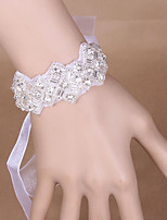 Wedding Flowers Wrist Corsages Wedding Special Occasion Party/ Evening Festival Satin