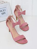 Women's Shoes  Cone Heel Heels Sandals Casual Green/Pink