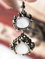 Korean Jewelry Earrings Fashion Retro Hollow Angel Tears