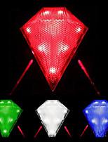 colorido bicicleta luz de la cola del laser de la bicicleta a prueba de agua 3-modo de 8 liderada por
