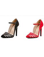 Women's Shoes  Stiletto Heel Heels Pumps/Heels Wedding/Party & Evening Black/Red