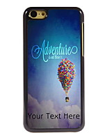 Personalized Gift Adventure is Out There Design Aluminum Hard Case for iPhone 5C