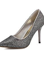 Women's Shoes Stiletto Heel Pointed Toe Pumps/Heels Casual Black