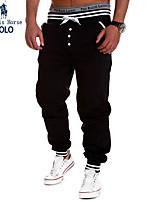 Men's Sweatpants , Casual/Formal/Sport Print Cotton/Elastic
