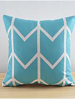 moderne points de poka de style coton / lin taie d'oreiller décoratif