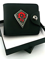 World Of Warcraft  Symbol Flag  Leather Wallet Cosplay Accessory