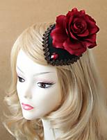 Butterfly Flower Wedding Bride Headdress Hairpin Small Hat