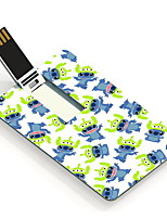 64gb beaux animaux carte de conception lecteur flash USB