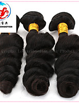 3 Pieces Top Quality Factory Price Natural Colour Loose Wave Malaysian Remy Hair