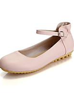 Girls' Shoes Casual Round Toe  Flats Green/Pink/Beige