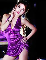 Feminino Roupa de Noite Ultra Sexy Feminino Seda