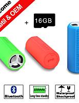 Besteye® 16GB TF Card Mini Portable Sport Bluetooth Speaker Waterproof,Dropproof/ Shockproof Wireless Speakers