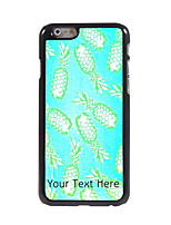 Personalized Gift Pineapple Design Aluminum Hard Case for iPhone 6