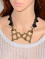 Vintage  Hollow Vines Necklace