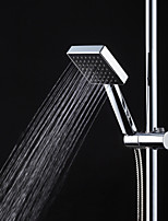 Square  Pressurized Handheld Shower Head