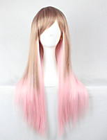 2015 Hot Sale Long Cosplay Wigs Anime Synthetic Wigs cosplay Party Hair Wigs