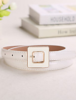 Women Decent Fashion Belts Party/Casual Leather Faux Leather Skinny Belt