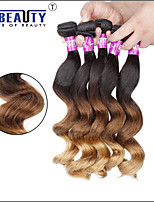 1 Pc /Lot 7A 3T Peruvian Virgin Hair Loose Wave Human Hair Wefts 100% Unprocessed Peruvian Remy Hair Weaves