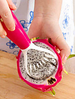 frutos práticos cortador colher descascador de gadgets de escavação melão baller ferramentas extravagantes (cor aleatória)