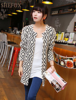 Women's Vintage/Casual/Work Stretchy Thick Cardigan (Knitwear/Cotton Blends) SF7A04